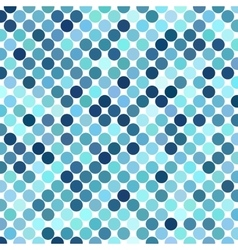 Background of Blue Dots vector image