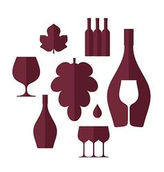 Wine Set vector image vector image