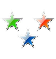 Cartoon stars vector