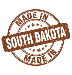 made in south dakota vector image vector image