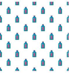 plastic soap bottle pattern seamless vector image vector image