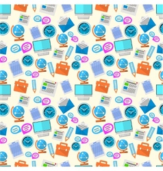 background for freelance and business vector image