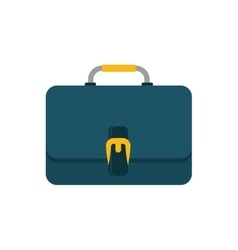 Isolated business briefcase vector