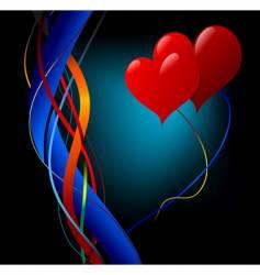 Love theme vector