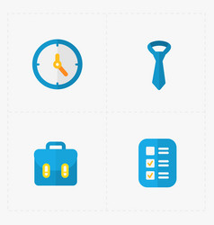 modern colorful flat social icons set on white vector image