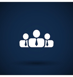 People icon business communication relationships vector