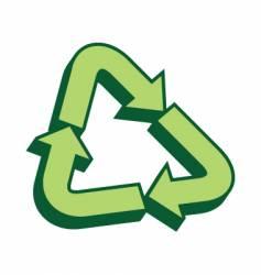 Recycle symbol vector