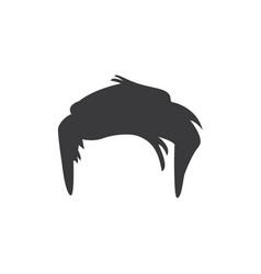 Short male hair icon vector