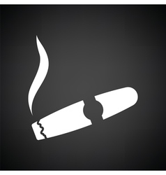 Cigar icon vector image