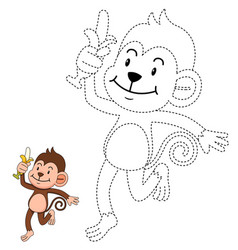 educational game for kids and coloring book vector image vector image
