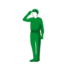 Arabia saudi soldier vector