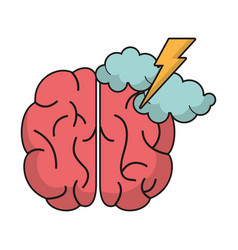 Brain idea brianstorm innovation vector