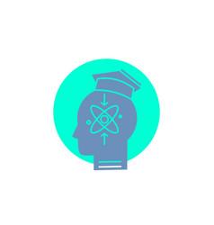 Capability head human knowledge skill glyph icon vector
