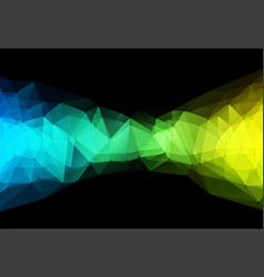 Color triangle geometric vector
