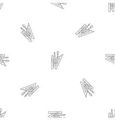 School supplies pattern seamless vector