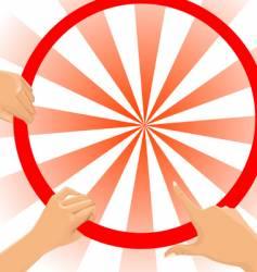 Target illustration vector