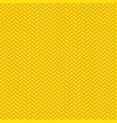 yellow herringbone decorative pattern background vector image