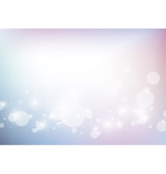 Abstract background with bokeh lights vector