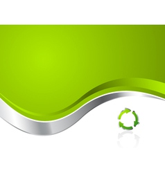 environmental recycling background vector image