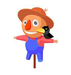 Icon scarecrow vector