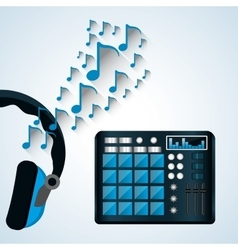 Music design isolated entertainment vector image