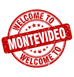 Welcome to montevideo vector
