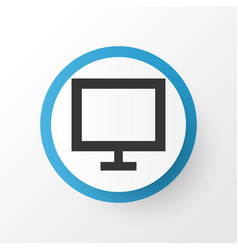 display icon symbol premium quality isolated vector image