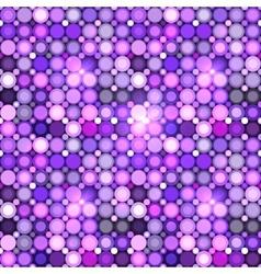Abstract violet circles seamless pattern vector image vector image