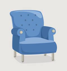 armchair eps 10 vector image