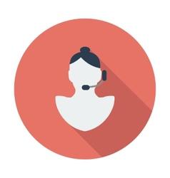 Call girl vector image