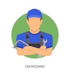 Car Mechanic Concept vector image