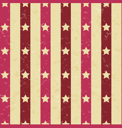 Circus carnival retro vintage stripes with stars vector