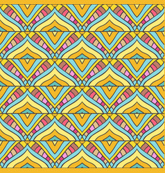 colored stripped pattern vector image