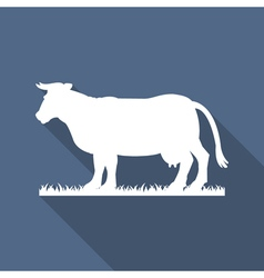cow icon vector image