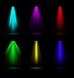 Creative of bright lighting vector