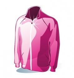 Isolated jacket vector