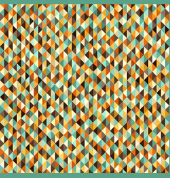 Retro seamless triangle pattern vector