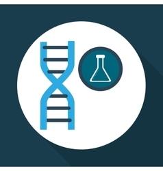 Science icon laboratory concept Flat vector image