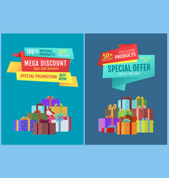 Special offer exclusive sale vector