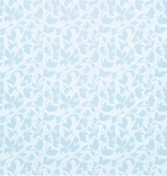 Seamless pattern blue vector image vector image