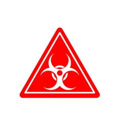 biohazard sign warning radiation hazard warning vector image