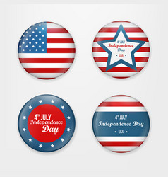 set badge and labels isolated on white background vector image