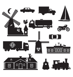 silhouette - miscellaneous vector image