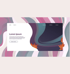 Abstract header website or business with lorem vector