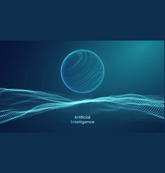 Artificial intelligence communication network vector