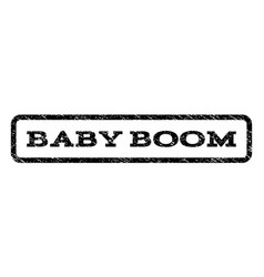 Baby boom watermark stamp vector