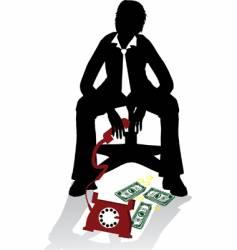 business crash vector image