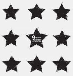 Grunge stars vector