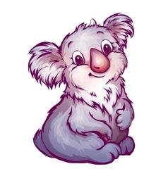 koala in cartoon style vector image