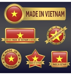 Made in Vietnam vector
